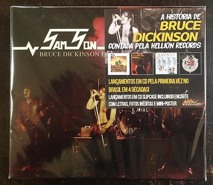 CD Box (4 CDs) Samson - Bruce Dickinson Era - Slipcase / +Poster - Lacrado