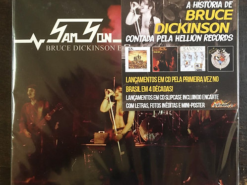 Box (4 CDs) Samson - Bruce Dickinson Era - Slipcase / +Poster - Lacrado