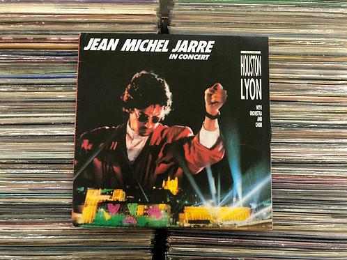 LP Jean Michel Jarre - In Concert Houston / Lyon - Capa Dupla