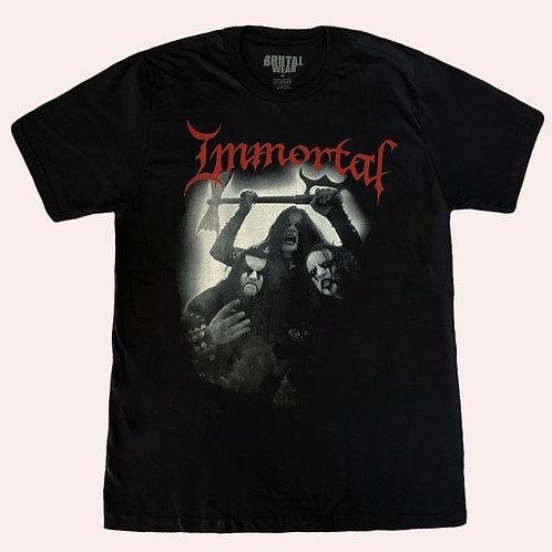 Camiseta Immortal - Banda - Brutal