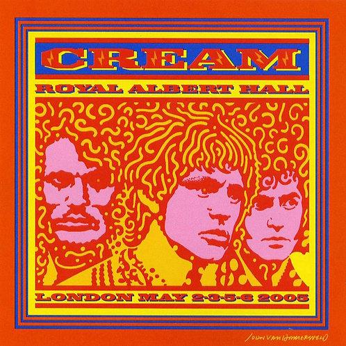 CD Cream - Royal Albert Hall - London May 2-3-5-6 05 - (Duplo) - Lacrado
