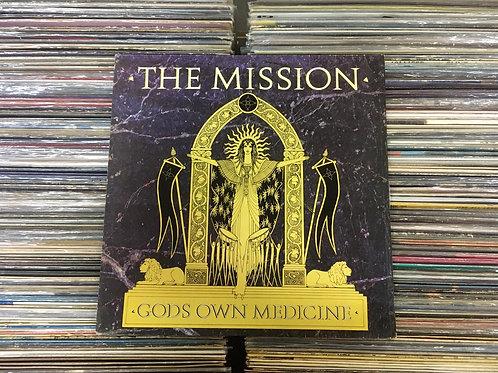 LP The Mission - Gods Own Medicine - Com Encarte