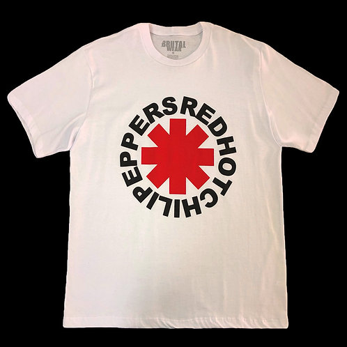 Camiseta Red Hot Chili Peppers - Branca - Brutal
