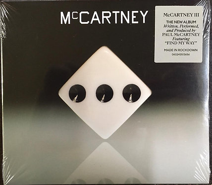 CD Paul Mccartney - McCartney III - Digifile - Lacrado