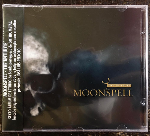 CD Moonspell - The Antidote - Lacrado