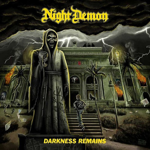 CD Night Demon - Darkness Remains - Digipack - Lacrado