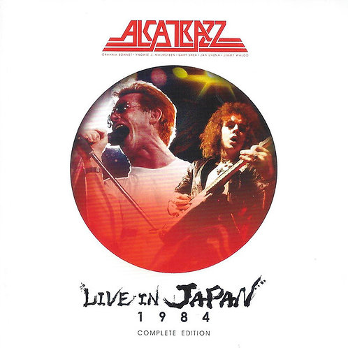 2 CDs + DVD Alcatrazz - Live In Japan 1984 Complete Edition - Lacrado