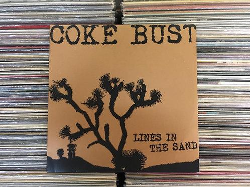LP Coke Bust - Lines In The Sand - Importado - Com Encarte