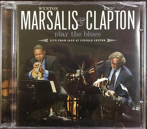 CD Wynton Marsalis & Eric Clapton - Play The Blues - Lacrado