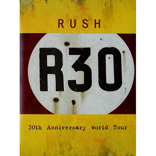 DVD Rush - R30 - 30th Anniversary World To - Lacrado