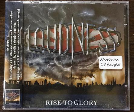 CD Loudness - Rise To Glory - 8118 - (Duplo) - Lacrado