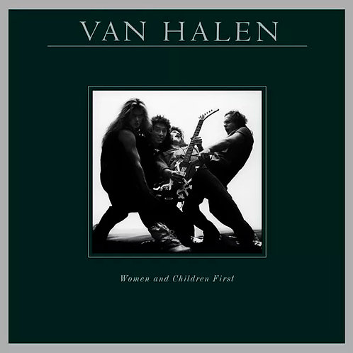 CD Van Halen - Women And Children First - Lacrado