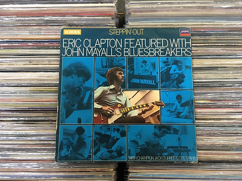 LP Eric Clapton Featured With John Mayall's Bluesbreakers - Steppin' Ou