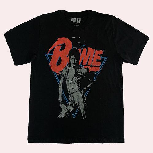 Camiseta David Bowie - Bowie -Brutal