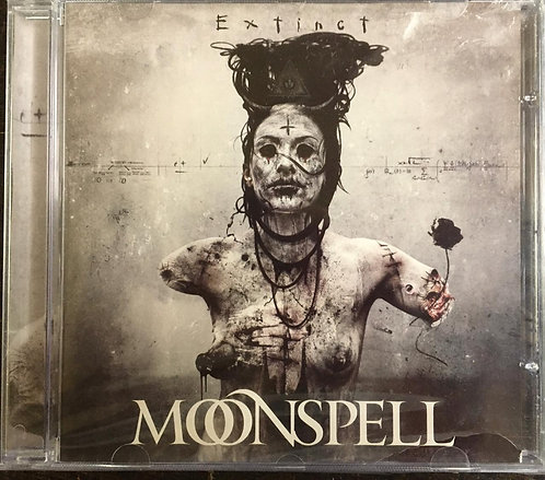 CD Moonspell - Extinct - Lacrado