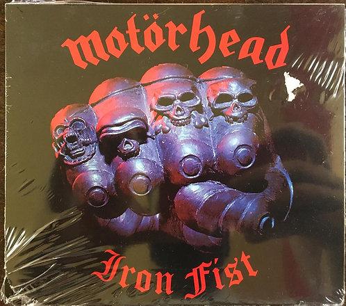 CD Motörhead - Iron Fist - Slicpase / +Bônus - Lacrado