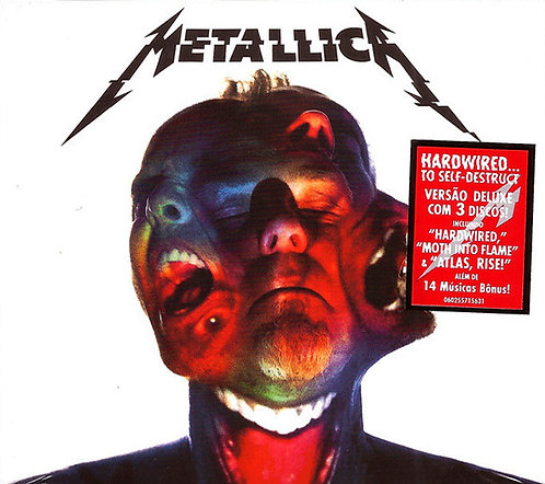CD Metallica - Hardwired..To Self Destruct - Triplo - Lacrado