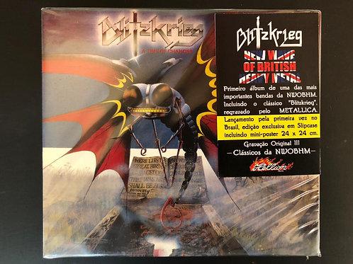 CD Blitzkrieg - A Time Of Changes - Slipcase - Lacrado