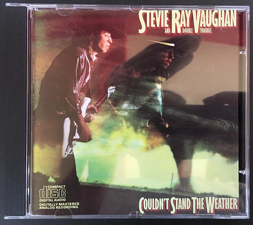CD Stevie Ray Vaughan - Couldn't Stand The Weather - Importado