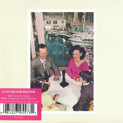 CD Led Zeppelin - Presence - Duplo - Digifile - Lacrado