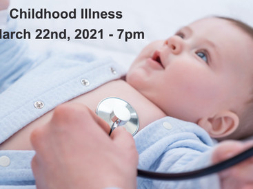 Free Zoom Class - Childhood Illness