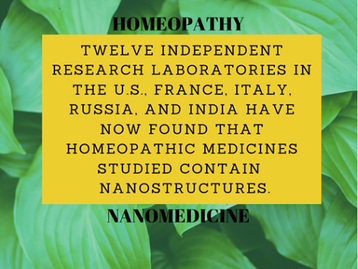 Homeopathy & Nanoparticles