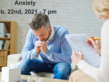 Free Zoom Class - Anxiety