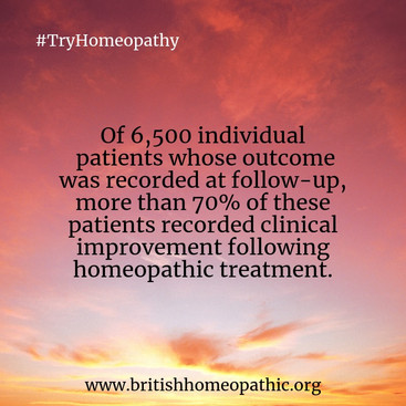 70% Clinical Improvement with Homeopathy