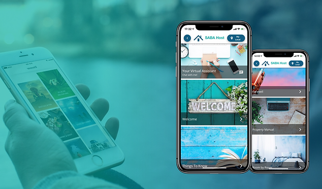 Virtual host and digial guidebook for vacation rentals