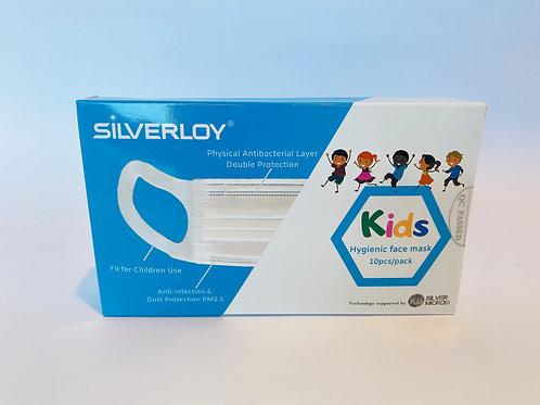 Physical Ag Antibacterial Hygienic Mask- Kids (10pcs)