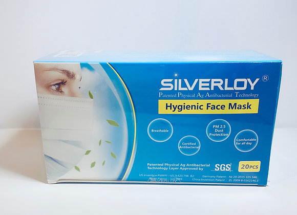 【Upgraded】Silverloy Hygienic Face Mask (20pcs)