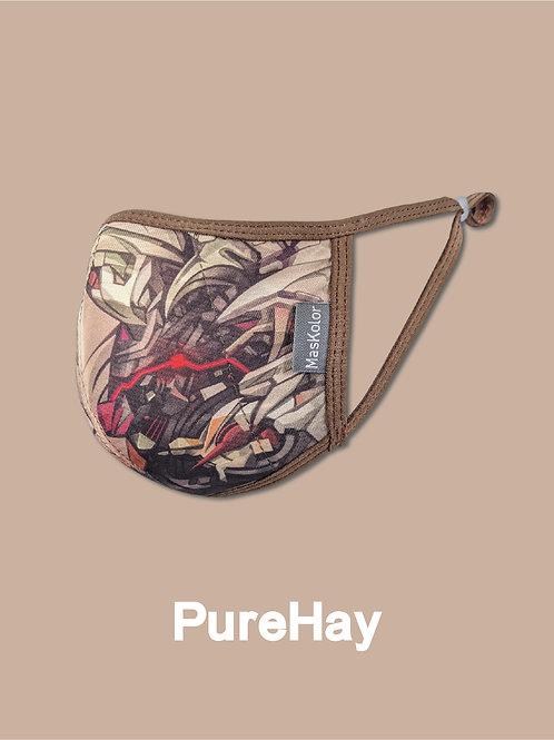 本地原創設計口罩Maskolor-PureHay