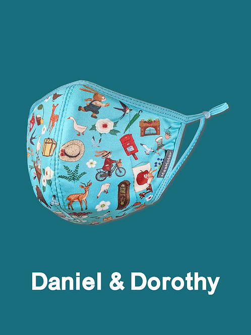 本地原創設計口罩Maskolor- Daniel & Dorothy