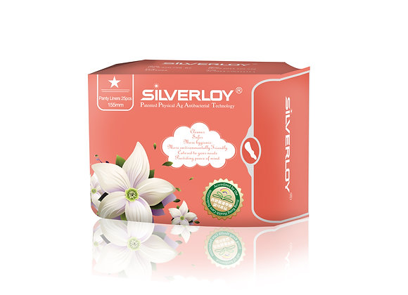 Silverloy Physical Antibacterial -Panty Liner (25pcs)