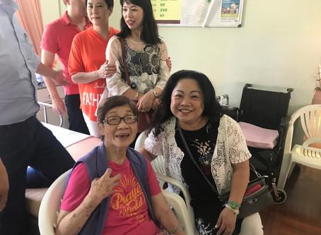讓愛心傳遞下去 探訪上水聖芳濟老人院Silverloy Team Visit Sheung Shui St. Francis Elderly Care Center