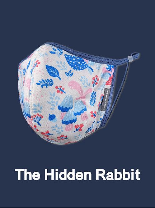 本地原創設計口罩Maskolor-The Hidden Rabbit