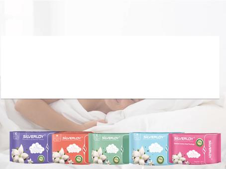 NEW! Silverloy 衛生巾 對比測試