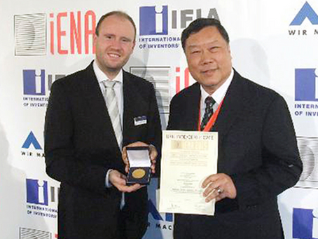 Congratulation Silverloy Acquired German IENA Gold Award