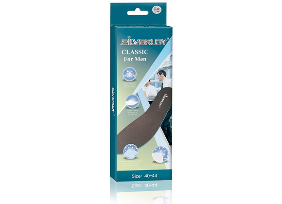 Silverloy Physical Ag Antibacterial Insole- Classic for Men