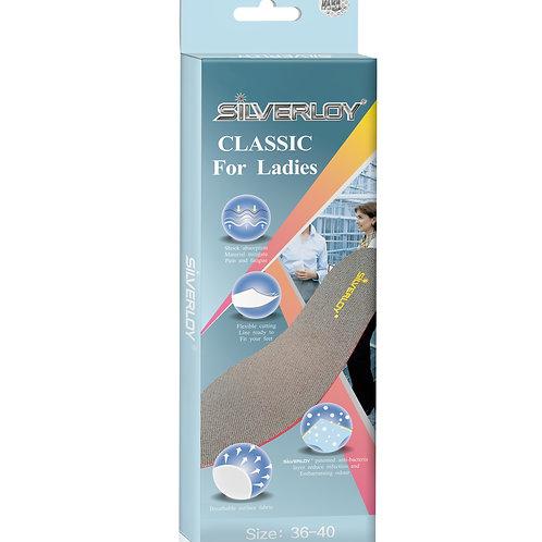 Silverloy銀微子物理抗菌鞋墊-經濟型(女)