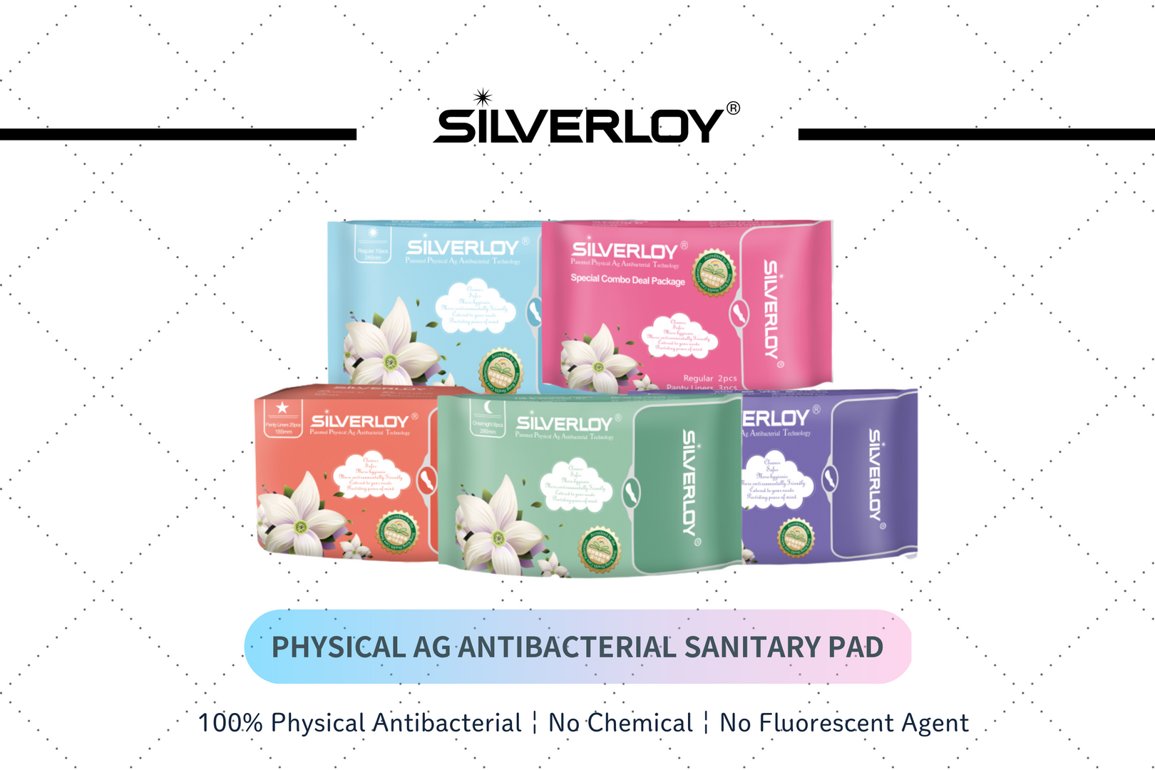 Silverloy Sanitary Pads