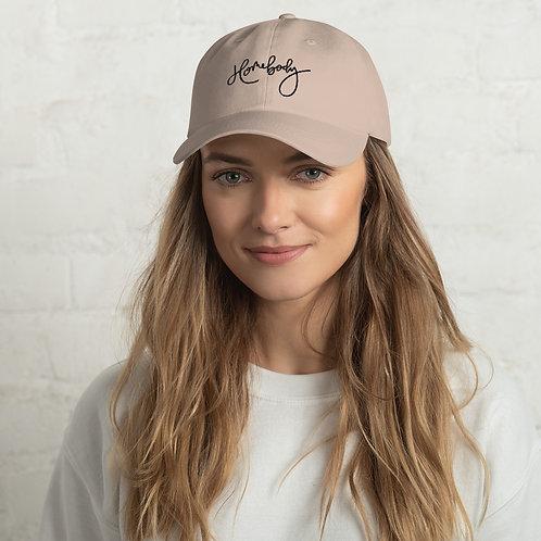 Embroidered Hat Black Logo