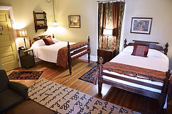 A two bed room with private bath
