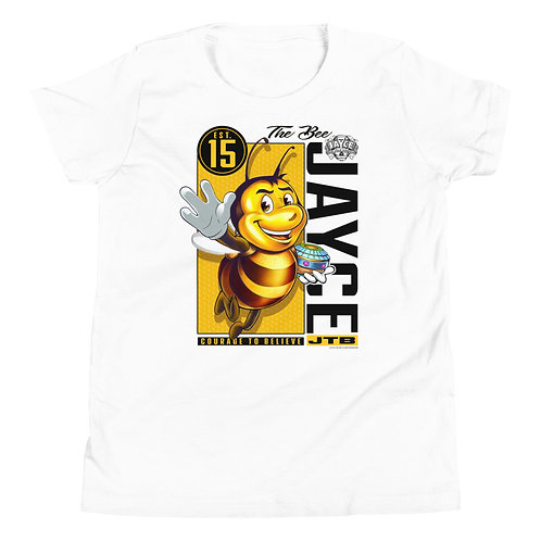 JAYCE THE BEE: Out The Box Youth Short Sleeve T-Shirt