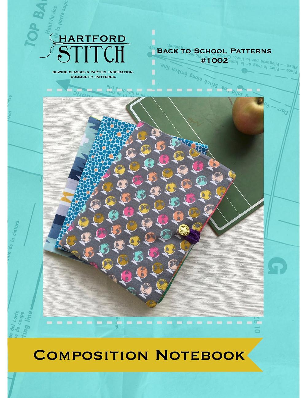 Hartford Stitch Patterns Composition Notebook