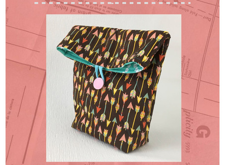 Free Back to School Pattern: Insulated Lunch Bag