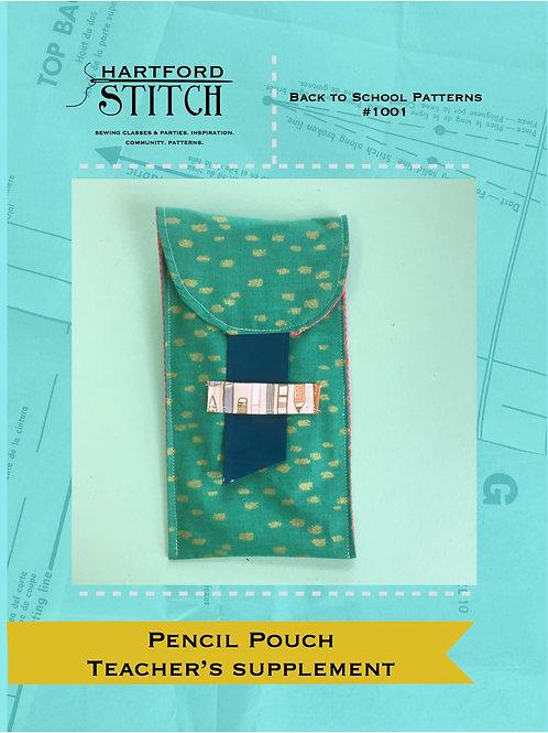 Teacher's Supplement: Pencil Pouch PDF