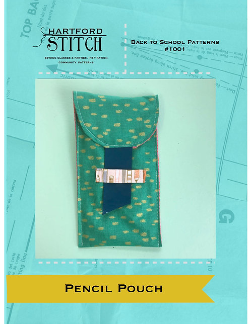 Pencil Pouch PDF Pattern