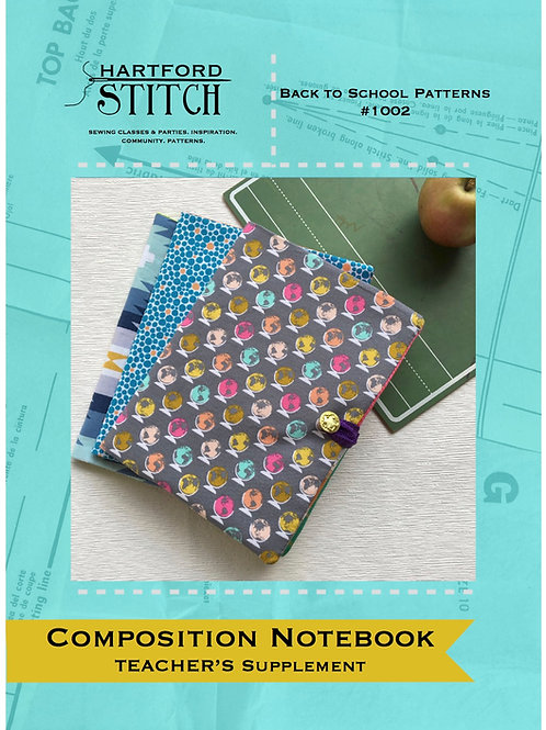 Teacher's Supplement: Composition Notebook Cover PDF