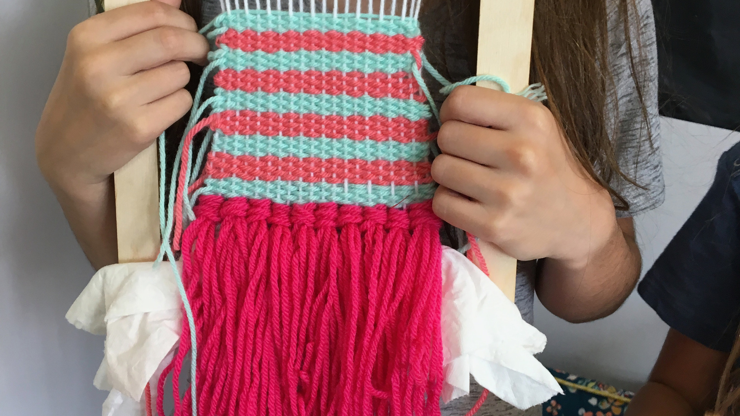 Perfect woven stripes!